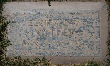 LAY, ELVIRA - Maricopa County, Arizona   ELVIRA LAY - Arizona Gravestone Photos