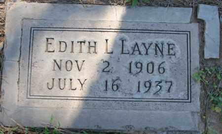 MARTIN LAYNE, EDITH L - Maricopa County, Arizona | EDITH L MARTIN LAYNE - Arizona Gravestone Photos