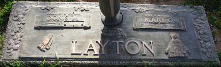 LAYTON, DONIS M. - Maricopa County, Arizona   DONIS M. LAYTON - Arizona Gravestone Photos