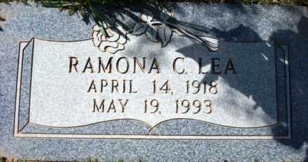 LEA, RAMONA C. - Maricopa County, Arizona   RAMONA C. LEA - Arizona Gravestone Photos