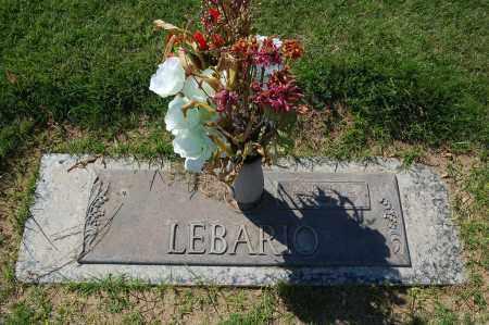 LEBARIO, MARTHA I. - Maricopa County, Arizona | MARTHA I. LEBARIO - Arizona Gravestone Photos