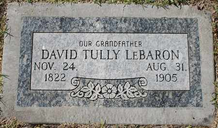 LEBARON, DAVID TULLY - Maricopa County, Arizona | DAVID TULLY LEBARON - Arizona Gravestone Photos