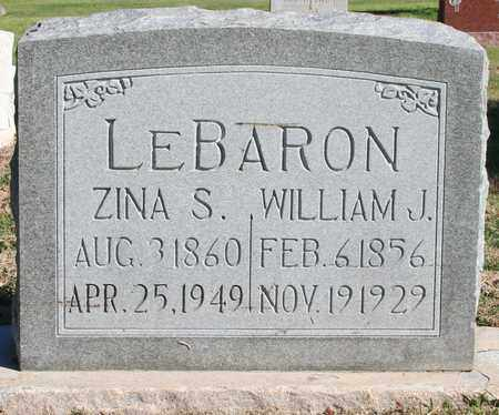 JOHNSON LEBARON, ZINA SUSETTE - Maricopa County, Arizona | ZINA SUSETTE JOHNSON LEBARON - Arizona Gravestone Photos