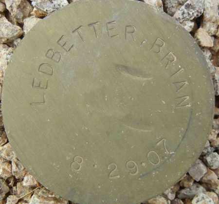 LEDBETTER, BRIAN - Maricopa County, Arizona | BRIAN LEDBETTER - Arizona Gravestone Photos