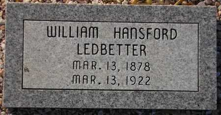 LEDBETTER, WILLIAM HANSFORD - Maricopa County, Arizona | WILLIAM HANSFORD LEDBETTER - Arizona Gravestone Photos