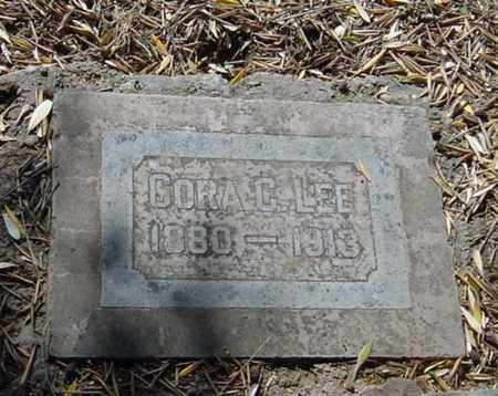 LEE, CORA C. - Maricopa County, Arizona | CORA C. LEE - Arizona Gravestone Photos