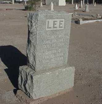 LEE, GROVER C - Maricopa County, Arizona | GROVER C LEE - Arizona Gravestone Photos