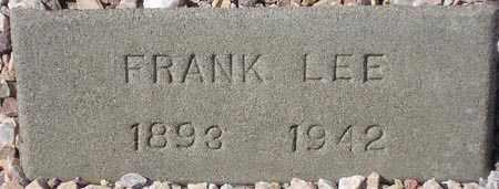 LEE, FRANK - Maricopa County, Arizona | FRANK LEE - Arizona Gravestone Photos