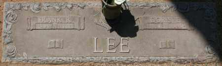 LEE, DORIS E. - Maricopa County, Arizona | DORIS E. LEE - Arizona Gravestone Photos