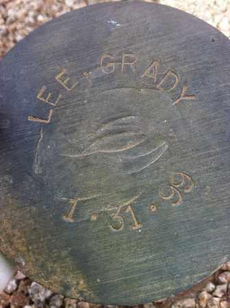 LEE, GRADY - Maricopa County, Arizona   GRADY LEE - Arizona Gravestone Photos
