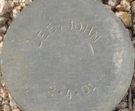 LEE, JOHN - Maricopa County, Arizona | JOHN LEE - Arizona Gravestone Photos