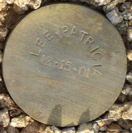 LEE, PATRICIA - Maricopa County, Arizona | PATRICIA LEE - Arizona Gravestone Photos