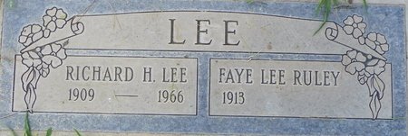 LEE, FAYE RULEY - Maricopa County, Arizona | FAYE RULEY LEE - Arizona Gravestone Photos