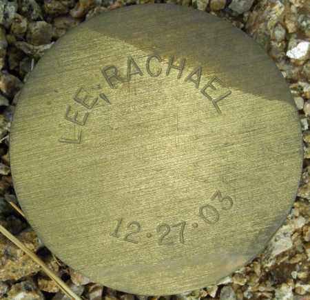 LEE, RACHAEL - Maricopa County, Arizona   RACHAEL LEE - Arizona Gravestone Photos