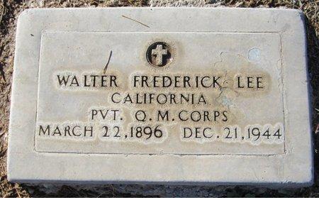 LEE, WALTER FREDERICK - Maricopa County, Arizona | WALTER FREDERICK LEE - Arizona Gravestone Photos