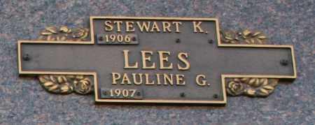 LEES, STEWART K - Maricopa County, Arizona | STEWART K LEES - Arizona Gravestone Photos