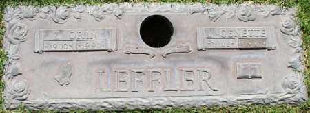 LEFFLER, L GENETTE - Maricopa County, Arizona | L GENETTE LEFFLER - Arizona Gravestone Photos