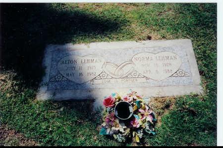 LEHMAN, ALTON JOHN - Maricopa County, Arizona   ALTON JOHN LEHMAN - Arizona Gravestone Photos