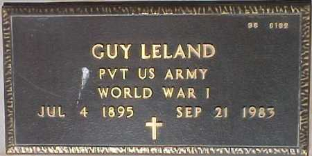 LELAND, GUY - Maricopa County, Arizona | GUY LELAND - Arizona Gravestone Photos