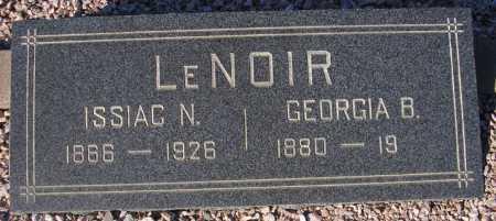 LENOIR, ISSIAC N. - Maricopa County, Arizona | ISSIAC N. LENOIR - Arizona Gravestone Photos