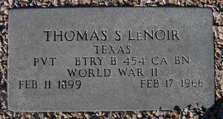 LENOIR, THOMAS S. - Maricopa County, Arizona | THOMAS S. LENOIR - Arizona Gravestone Photos