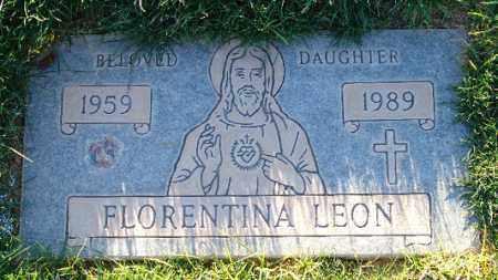 LEON, FLORENTINA (PETINA) - Maricopa County, Arizona | FLORENTINA (PETINA) LEON - Arizona Gravestone Photos