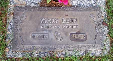 LEON, MARY - Maricopa County, Arizona | MARY LEON - Arizona Gravestone Photos