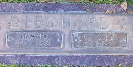 LEONARD, HOWARD - Maricopa County, Arizona | HOWARD LEONARD - Arizona Gravestone Photos