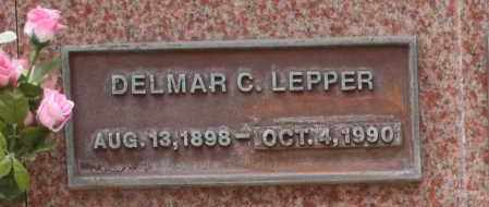 LEPPER, DELMAR C. - Maricopa County, Arizona   DELMAR C. LEPPER - Arizona Gravestone Photos