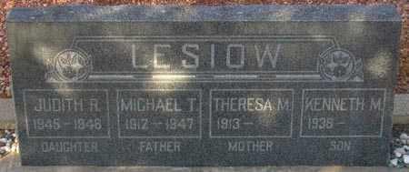LESIOW, KENNETH M. - Maricopa County, Arizona | KENNETH M. LESIOW - Arizona Gravestone Photos