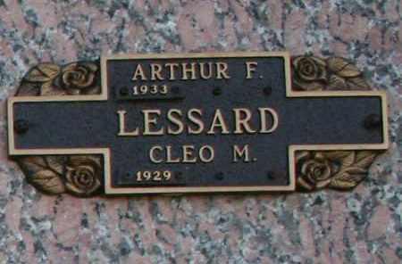 LESSARD, ARTHUR F - Maricopa County, Arizona | ARTHUR F LESSARD - Arizona Gravestone Photos