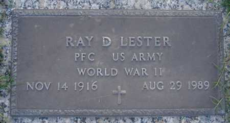 LESTER, RAY D - Maricopa County, Arizona | RAY D LESTER - Arizona Gravestone Photos