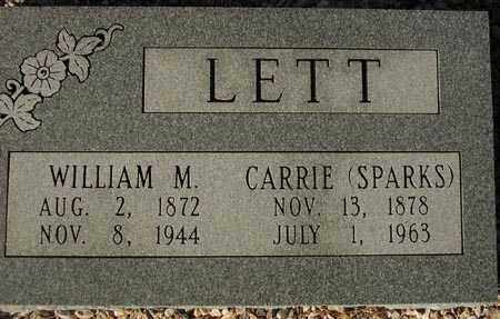 LETT, WILLIAM M. - Maricopa County, Arizona | WILLIAM M. LETT - Arizona Gravestone Photos
