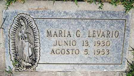 LEVARIO, MARIA G. - Maricopa County, Arizona | MARIA G. LEVARIO - Arizona Gravestone Photos