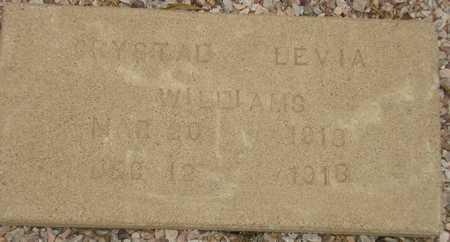 LEVIA, CRYSTAL - Maricopa County, Arizona | CRYSTAL LEVIA - Arizona Gravestone Photos