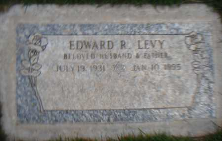 LEVY, EDWARD R. - Maricopa County, Arizona | EDWARD R. LEVY - Arizona Gravestone Photos