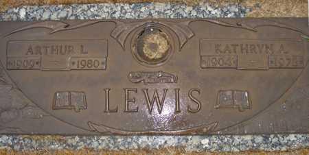 LEWIS, ARTHUR L. - Maricopa County, Arizona | ARTHUR L. LEWIS - Arizona Gravestone Photos