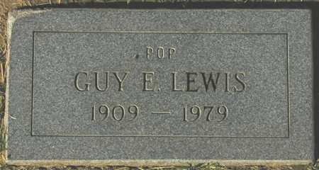 LEWIS, GUY E. - Maricopa County, Arizona | GUY E. LEWIS - Arizona Gravestone Photos