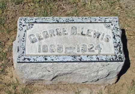 LEWIS, GEORGE B. - Maricopa County, Arizona | GEORGE B. LEWIS - Arizona Gravestone Photos