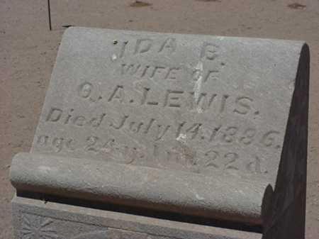 LEWIS, IDA B - Maricopa County, Arizona   IDA B LEWIS - Arizona Gravestone Photos
