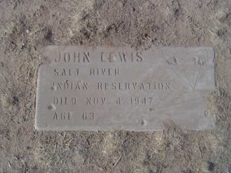 LEWIS, JOHN - Maricopa County, Arizona | JOHN LEWIS - Arizona Gravestone Photos