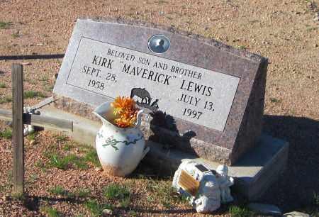 "LEWIS, KIRK ""MAVERICK"" - Maricopa County, Arizona   KIRK ""MAVERICK"" LEWIS - Arizona Gravestone Photos"