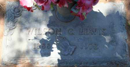LEWIS, WILSON C. - Maricopa County, Arizona   WILSON C. LEWIS - Arizona Gravestone Photos