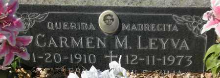 LEYVA, CARMEN M. - Maricopa County, Arizona   CARMEN M. LEYVA - Arizona Gravestone Photos