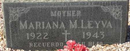 LEYVA, MARIANA M. - Maricopa County, Arizona | MARIANA M. LEYVA - Arizona Gravestone Photos