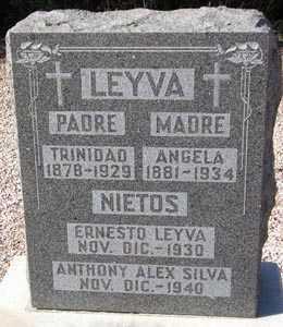 LEYVA, ANGELA - Maricopa County, Arizona | ANGELA LEYVA - Arizona Gravestone Photos