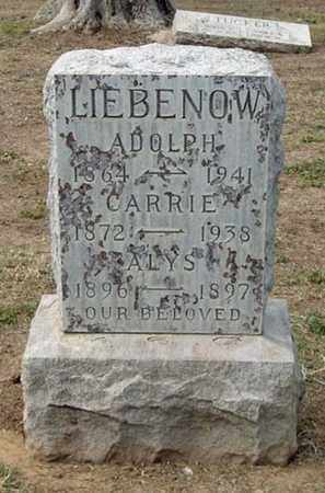 CROTHERS LIEBENOW, CARRIE - Maricopa County, Arizona | CARRIE CROTHERS LIEBENOW - Arizona Gravestone Photos