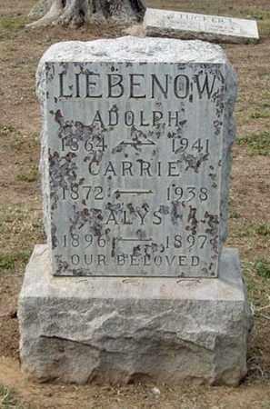 LIEBENOW, ALYS - Maricopa County, Arizona | ALYS LIEBENOW - Arizona Gravestone Photos
