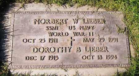LIEBER, DOROTHY B. - Maricopa County, Arizona | DOROTHY B. LIEBER - Arizona Gravestone Photos