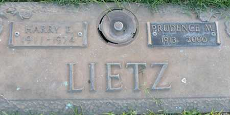 LIETZ, PRUDENCE M. - Maricopa County, Arizona | PRUDENCE M. LIETZ - Arizona Gravestone Photos